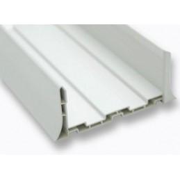 Profil U en forme de plinthe PVC