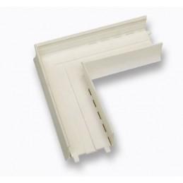 Pièce d'angle 90 degrés PVC pour profil U