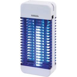 Destructeur d'insectes à Led grille électrifiée 13W Gris
