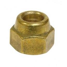 Écrou standard 3/8 SAE laiton