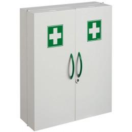 CLINIX Armoire à pharmacie 2 portes blanc