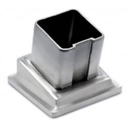 Embase manchon à 80° pour tube 35 mm