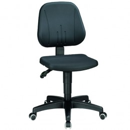 Chaise ergonomique avec doubles roulettes
