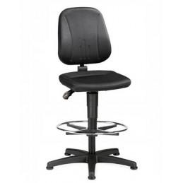 Chaise haute ergonomique avec repose-pieds