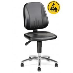 Chaise ESD d'atelier réglable industrielle