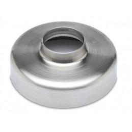 Cache embase pour tube inox diamètre 25.4 mm