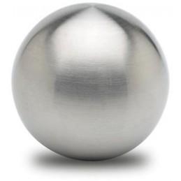 Bouton d'ornement inox 40 mm