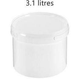 Seau alimentaire 3.1 litres sans couvercle