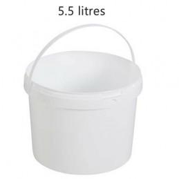 Seau alimentaire 5.5 litres sans couvercle