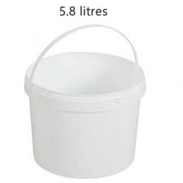 Seau alimentaire 5.8 litres sans couvercle