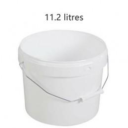 Seau alimentaire 11.2 litres anse métal sans couvercle