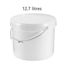 Seau alimentaire 12.7 litres anse métal sans couvercle