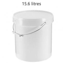Seau alimentaire 15.6 litres anse métal sans couvercle