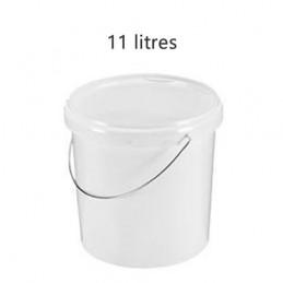 Seau alimentaire 11 litres standard avec couvercle