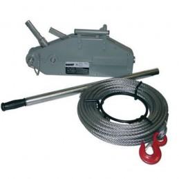 Treuil à câble passant aluminium