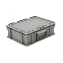 Bac EURONORM 400x300 mm 10 litres avec couvercle et poignées
