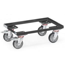 Rouleur de bacs capacité 250 kg  pour bacs 600 x 400 mm