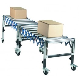 Convoyeur flexible mobile 1295 mm