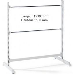 Support haut hauteur 1500 x 1530 pour rouleaux d'emballage