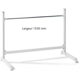 Support bas hauteur 1000 x 1530 mm pour rouleaux d'emballage