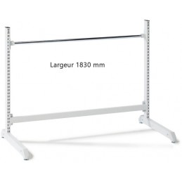 Support bas hauteur 1000 x 1830 mm pour rouleaux d'emballage