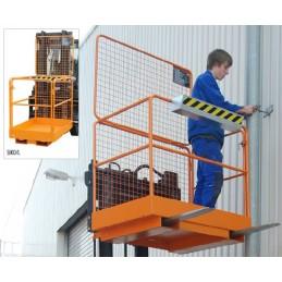Nacelle de sécurité pour réparations et entretien