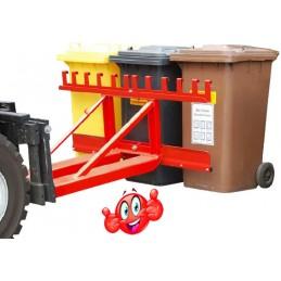 Elévateurs de poubelles pour chariot élévateurs
