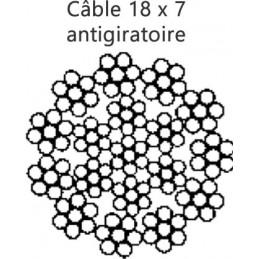 Cable 18 x 7 antigiratoire