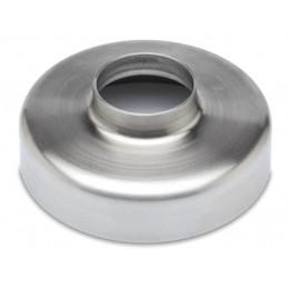 Cache embase pour tube 38 mm intérieur avec platine soudée