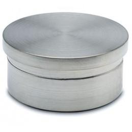 Embout plat inox pour tube de 38 mm
