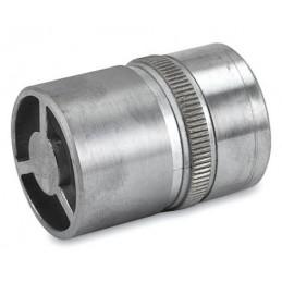 Raccord de liaison inox pour tube diamètre 38 mm