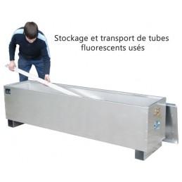 Box pour le stockage de tubes fluorescents