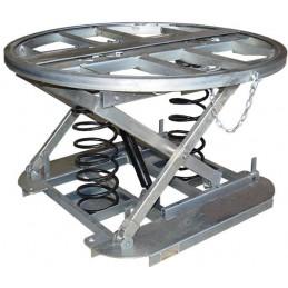 Table élévatrice à niveau constant galvanisée