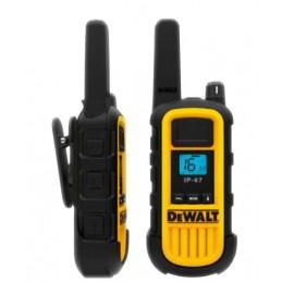Pack de deux talkie-walkie 10 km renforcés DEWALT