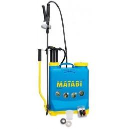 Pulvérisateur 12 litres à dos avec pression entretenue