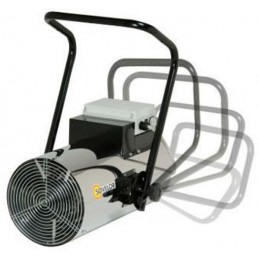 Chauffage air pulsé électrique mural 380 V