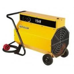 Chauffage air pulsé 15 Kw mobile électrique