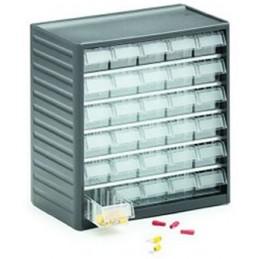 Armoire de stockage 30 tiroirs pour petites pièces