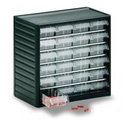 Armoire de stockage 24 tiroirs pour petites pièces