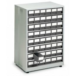 Armoires haute densité 48 tiroirs gris