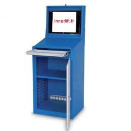 Armoire compacte de protection pour écran plat