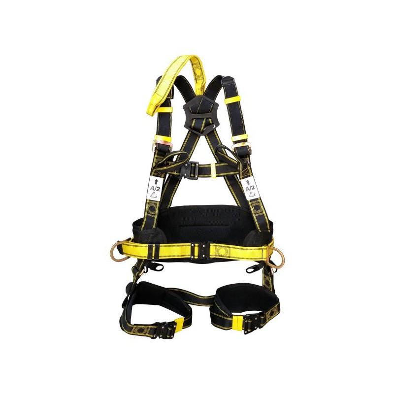Harnais de sécurité avec 2 points d'accrochage dorsal et sternal
