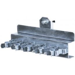 Ligne de pinces pour chariot porte-outils