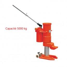 Cric hydraulique rotatif 360° 5000 kg