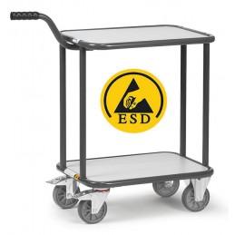 Chariot à col de cygne ESD charge 250 kg