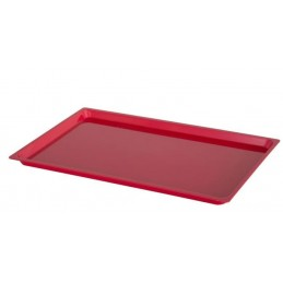 Plateau ABS 600 x 400 mm rouge