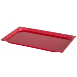 Plateau ABS 530 x 325 mm rouge