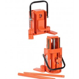 Cric hydraulique lève-machines