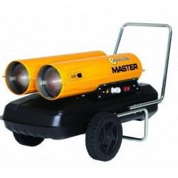 Chauffage air pulsé 44-88 kW débit 1070-2140 m3 mobile au fuel