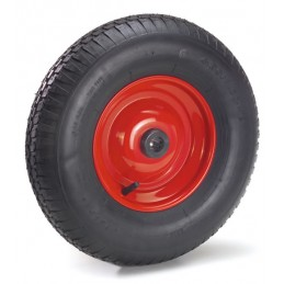 Roue gonflable 400 mm pneu avec crampons